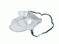 Adult Non PVC Eco Oxygen Mask 22mm Inlet 1188