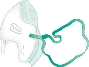 Adult Non PVC Eco Mask 6mm Inlet 1136