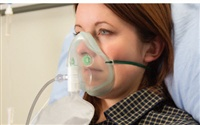 Intersurgical EcoLite™, adult, high concentration oxygen mask with tube, 2.1m