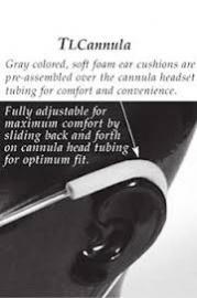 Salter Adult Cannula Inc EZ Wraps 7 Ft Tubing 1600TLC