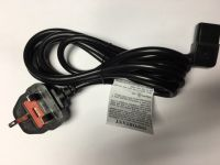 Devilbiss 515 and 1025 Angled Mains Power Lead UK 180-0003-007