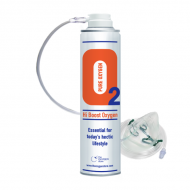 1 X O2 10 Litre Oxygen Can Inc 1 x Mask and Tubing