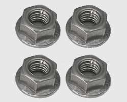 Devilbiss Compressor Plate Hex Nuts 4 Pack 303DZ-630