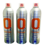 3 X O2 7.2 Litre Oxygen Cans