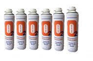 12 X O2 10 Litre Replacement Oxygen Cans