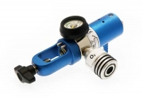Dialflow O2 Regulator + Auxillary Outlet O2  Range C  0.1-1.5 l Pin Index/Barb 818-0019