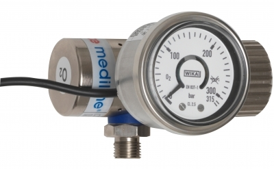 GCE MediReg O2 bullnose G1/4 Abulance Regulator