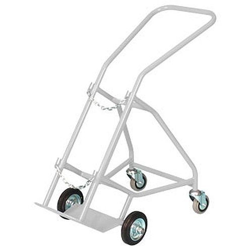 F/G Size Oxygen Cylinder Trolley with Stabilisers