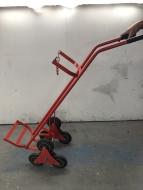 Single Wheel Cylinder Stair Climbing Trolley - 1X Oxygen Cylinder