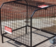 Small expanding heater cage
