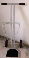Oxygen cylinder trolley - 1X  Size F