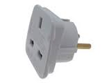 Continental Travel Adaptor UK to Euro