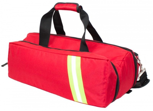 Paramedic Oxygen Barrel Bag Red