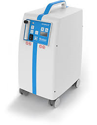 Kroeber AEROPLUS E, 5 Litre Medical Oxygen Concentrator 230 v