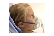 Intersurgical EcoLite™, paediatric, medium concentration oxygen mask with tube, 2.1m