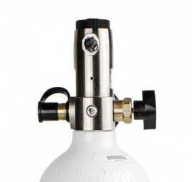 DeVilbiss iFill ML6 Cylinder with constant flow regulator