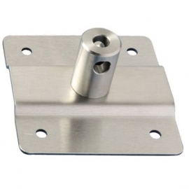 Oxygen Cylinder Ring Wall Bracket only