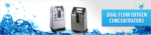 Dual Flow Oxygen Concentrators