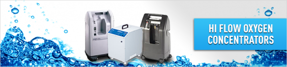 Hi Flow Oxygen Concentrators