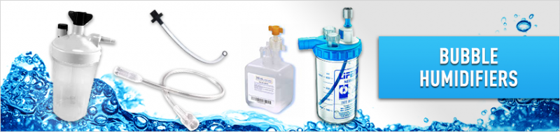 Oxygen Concentrator Bubble Humidifiers