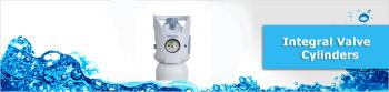 Medivital / Integral Valve Medical Oxygen Cylinders