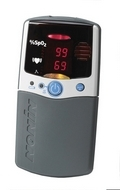 Nonin 2500A Palmsat Digital Oximeter w/ Adjustable Alarms & Memory