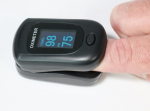 PC-60B1 Finger Pulse Oximeter Black