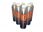 6 X O2 7.2 Litre Replacement Oxygen Cans