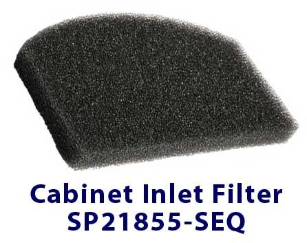 SeQual Integra 10L Cabinet Inlet Filter SP2185-SEQ