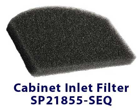 SeQual Integra 10L Cabinet Inlet Filter SP2185-SEQ