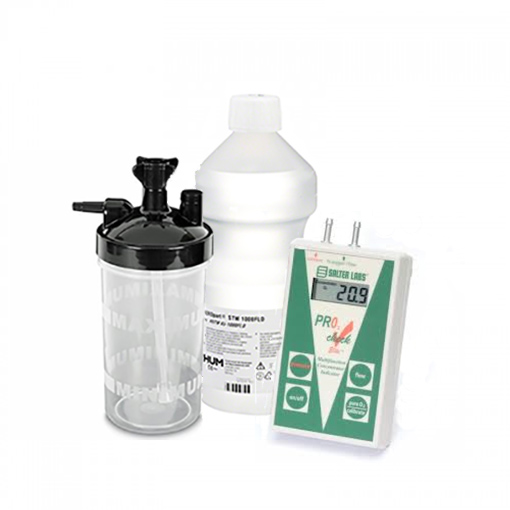 Salter Labs High Flow Bubble Humidifier Bottle 6 to 15 LPM with 6 PSI